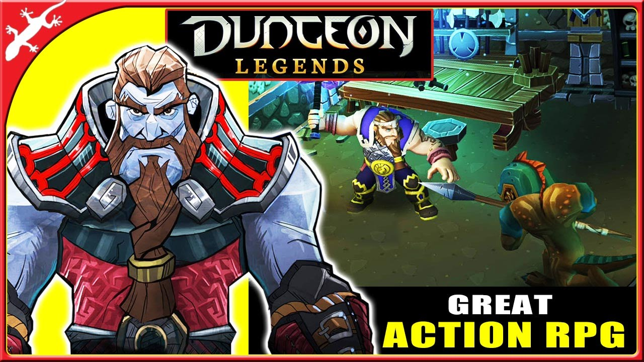 "dungeon legends featured - Top 25 tựa game ""chặt chém"" hay nhất iOS và Android năm 2016 (P.1)"