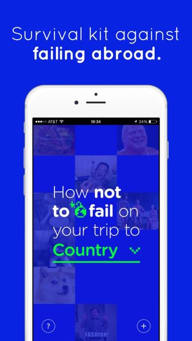 FailPop – Ứng dụng tìm hiểu văn hóa ứng xử khi du lịch