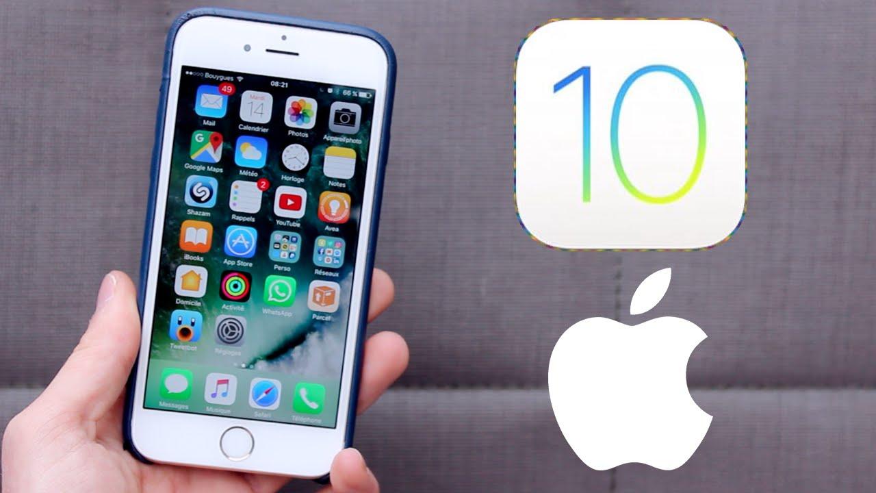 ios 10 - iOS 10 chính thức cho phép tải về