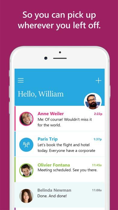 Microsoft Send – Gửi email tức thì như chat trên di động
