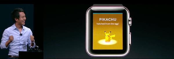 Pokémon Go xuất hiện trên Apple Watch