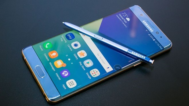 Samsung thông báo lệnh thu hồi Galaxy Note 7 trên toàn cầu
