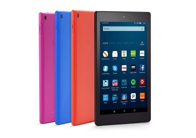 Tablet Amazon Fire HD 8 có phiên bản mới, giá chỉ 90 USD