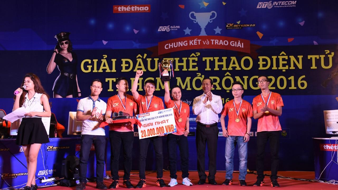 thumb - Boss.CFVN đoạt cúp vô địch Giải đấu thể thao điện tử TP.HCM