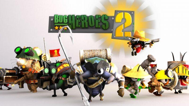 bug heroes 2 ios 800x450 - Tổng hợp game mobile hấp dẫn hỗ trợ chơi 2 người (phần 5)