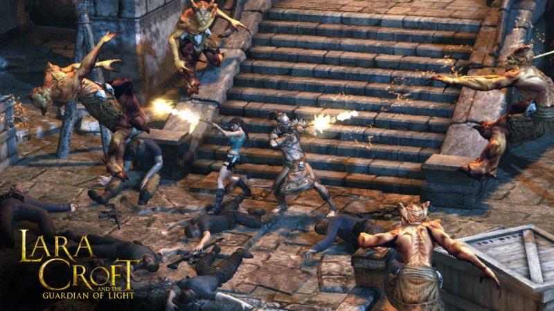 lara croft ios 800x450 - Tổng hợp game mobile hấp dẫn hỗ trợ chơi 2 người (phần 2)