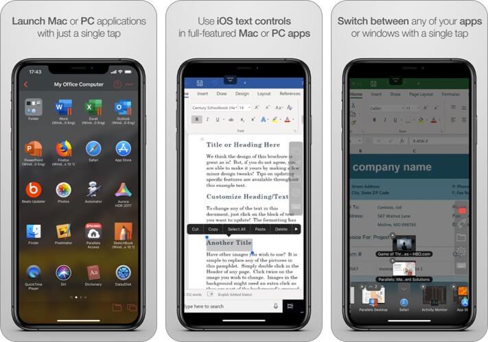 15 ứng dụng điều khiển máy tính từ xa trên iPhone năm 2021