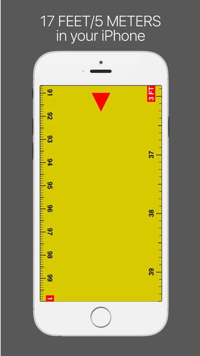 ruler ios 1 - Tổng hợp 29 ứng dụng hay và miễn phí trên iOS ngày 18.4.2017