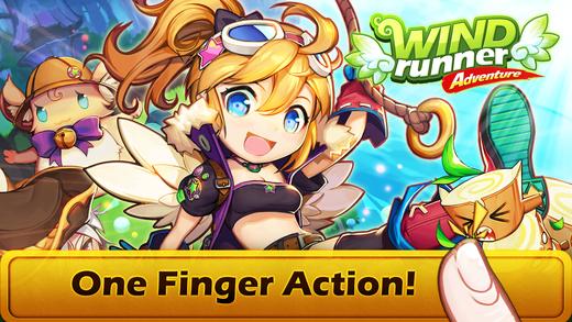 wind runner - Tổng hợp 5 game hay miễn phí trên di động ngày 16.10