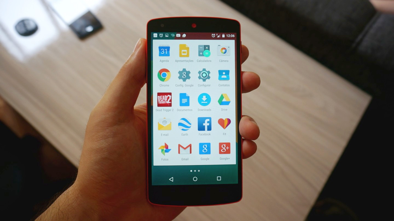 Nexus 5 com Android 5.0 - Tổng hợp 8 ứng dụng hay và miễn phí trên Android ngày 15.11.2016