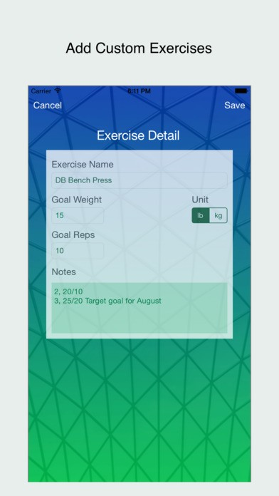 workout-tracker-ios