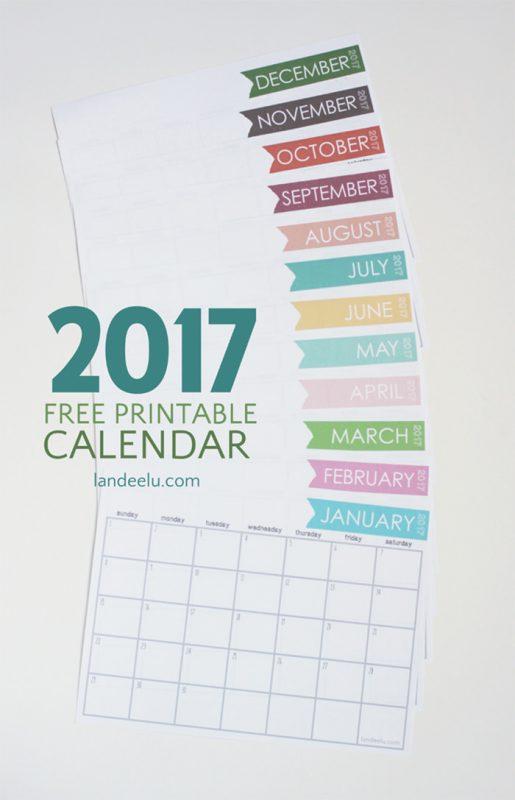 2017 ink friendly 515x800 - Mời bạn tải về trọn bộ 20 bộ lịch in mới cho năm 2017