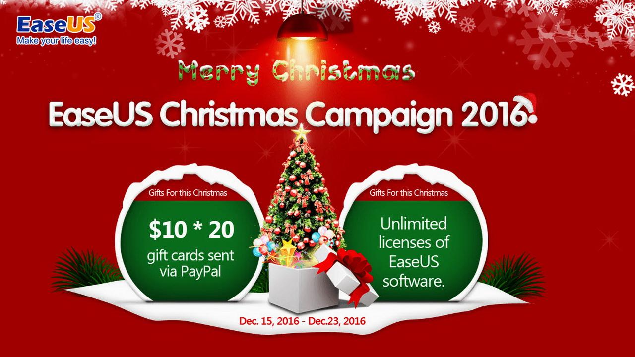 EaseUS - Miễn phí bản quyền 5 phần mềm EaseUS tổng trị giá 220USD