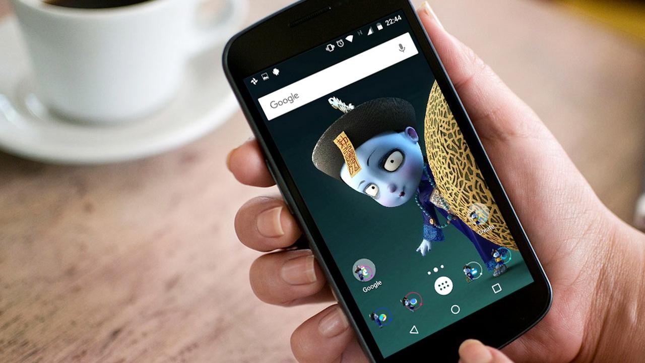 """GZUzx - """"Mang"""" Tiểu Cương Thi lên điện thoại Android"""