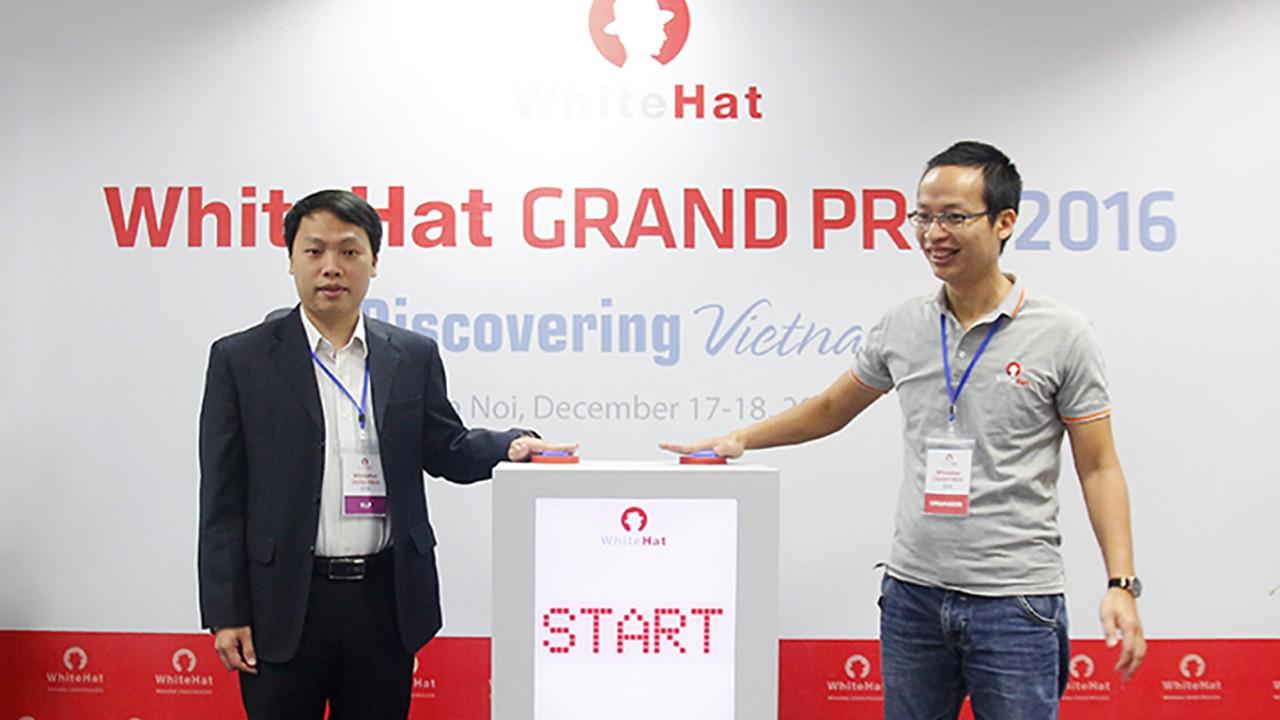 Khai mac WhiteHat Grand Prix 2016 - Việt Nam giành ngôi Á quân cuộc thi WhiteHat Grand Prix 2016 toàn cầu
