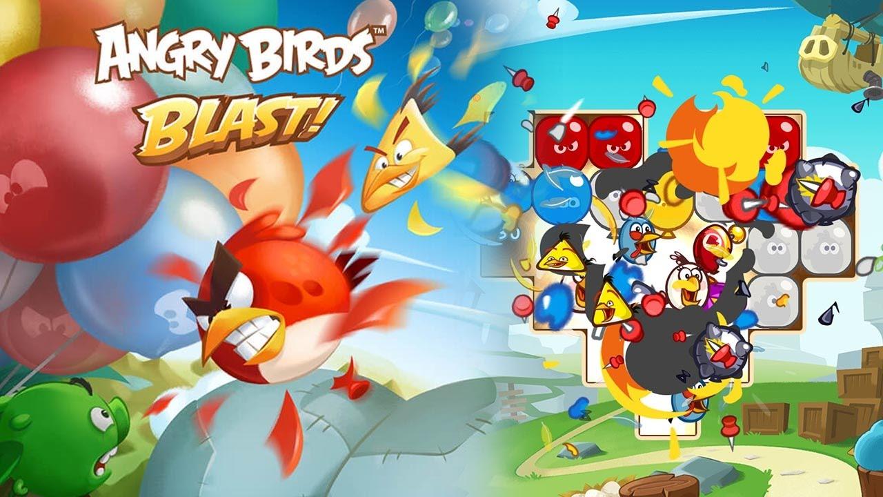 angry birds blast featured - Cách chơi Angry Birds Blast trước ngày phát hành chính thức