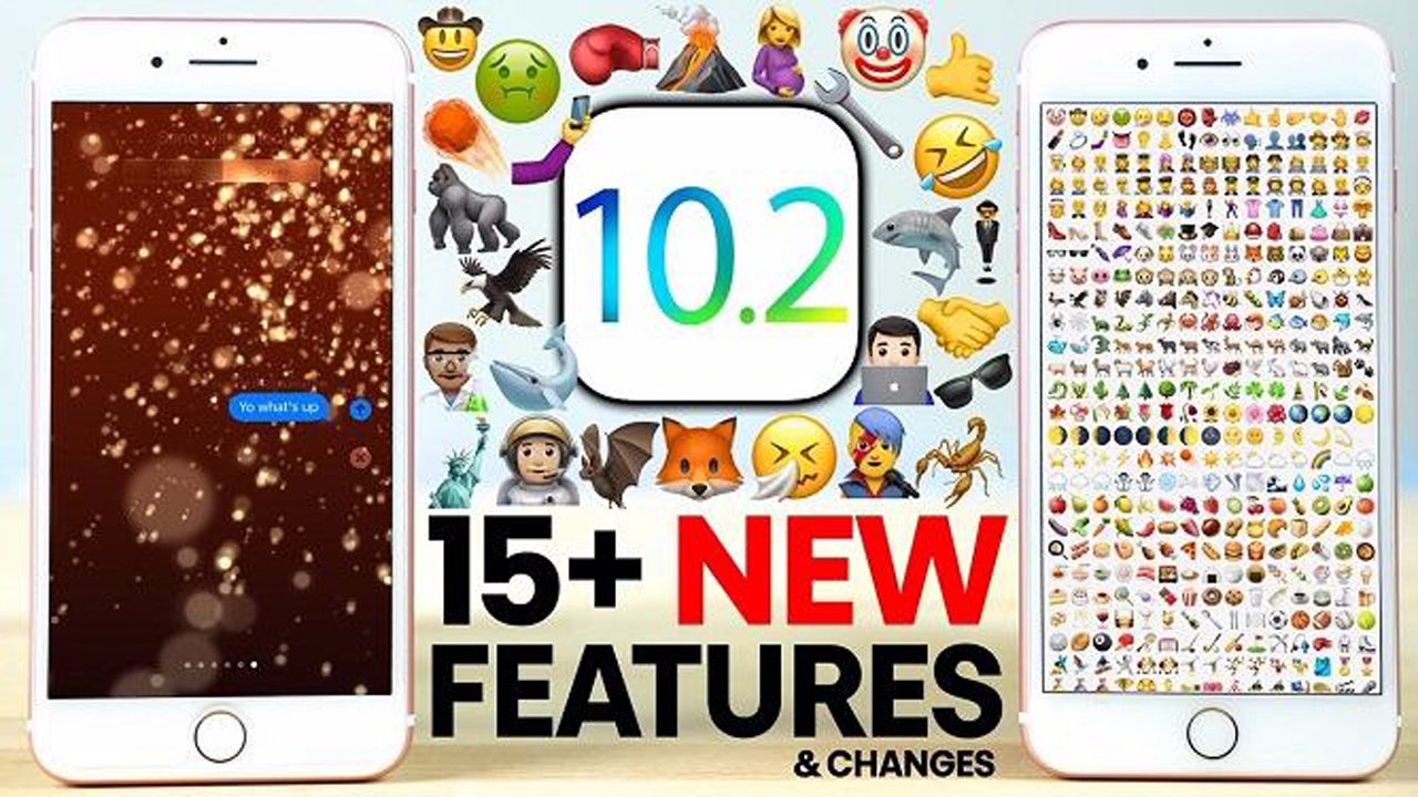 ban cap nhat ios 10.2 - Đã có bản cập nhật iOS 10.2
