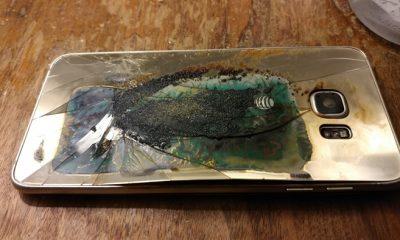 charred galaxy s6 edge 1  400x240 - Samsung S6 Edge phát nổ, Samsung tiếp tục bị vận đen đeo bám