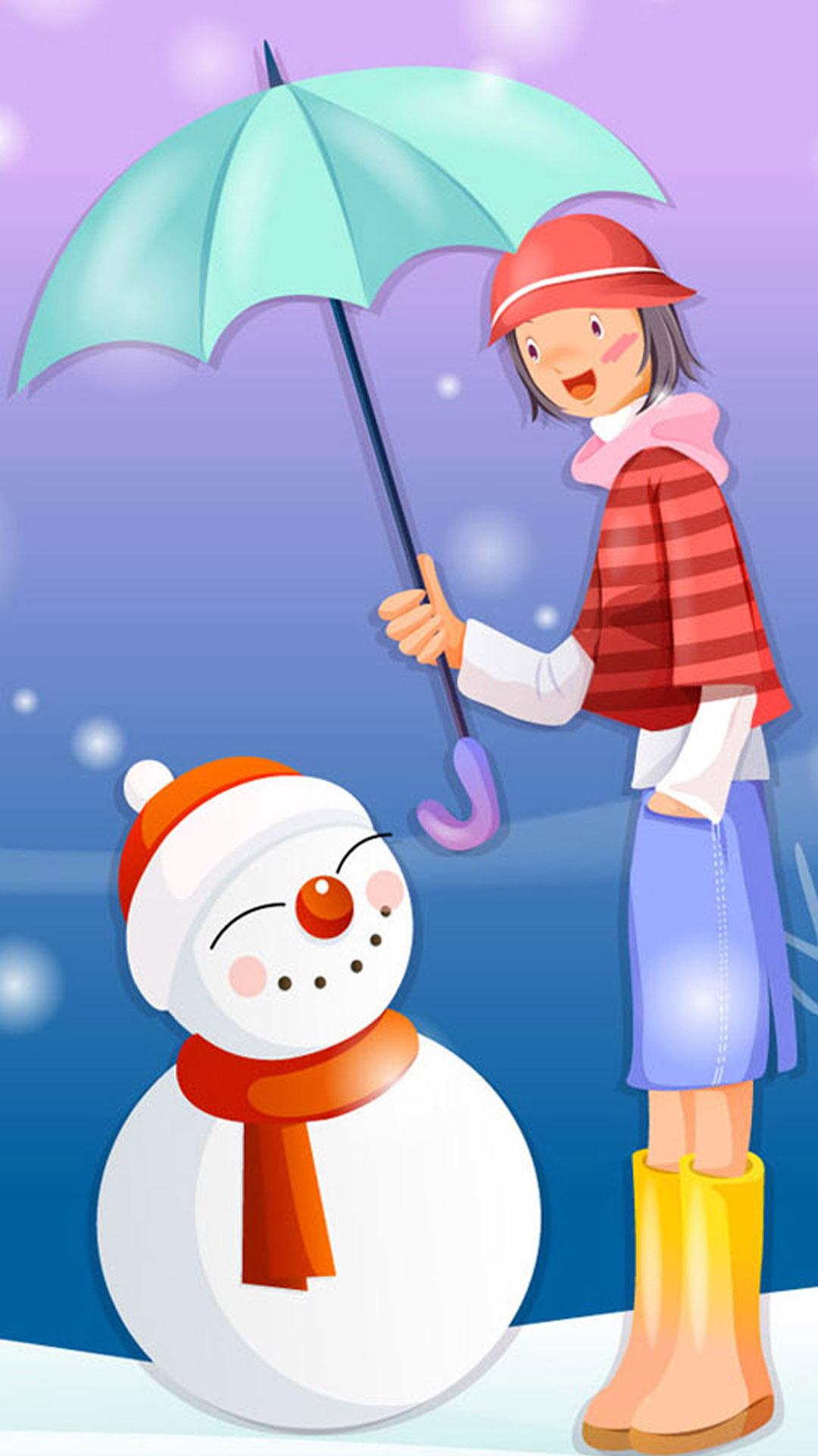 christmas 11 - 50 ảnh nền Giáng Sinh cực dễ thương cho điện thoại