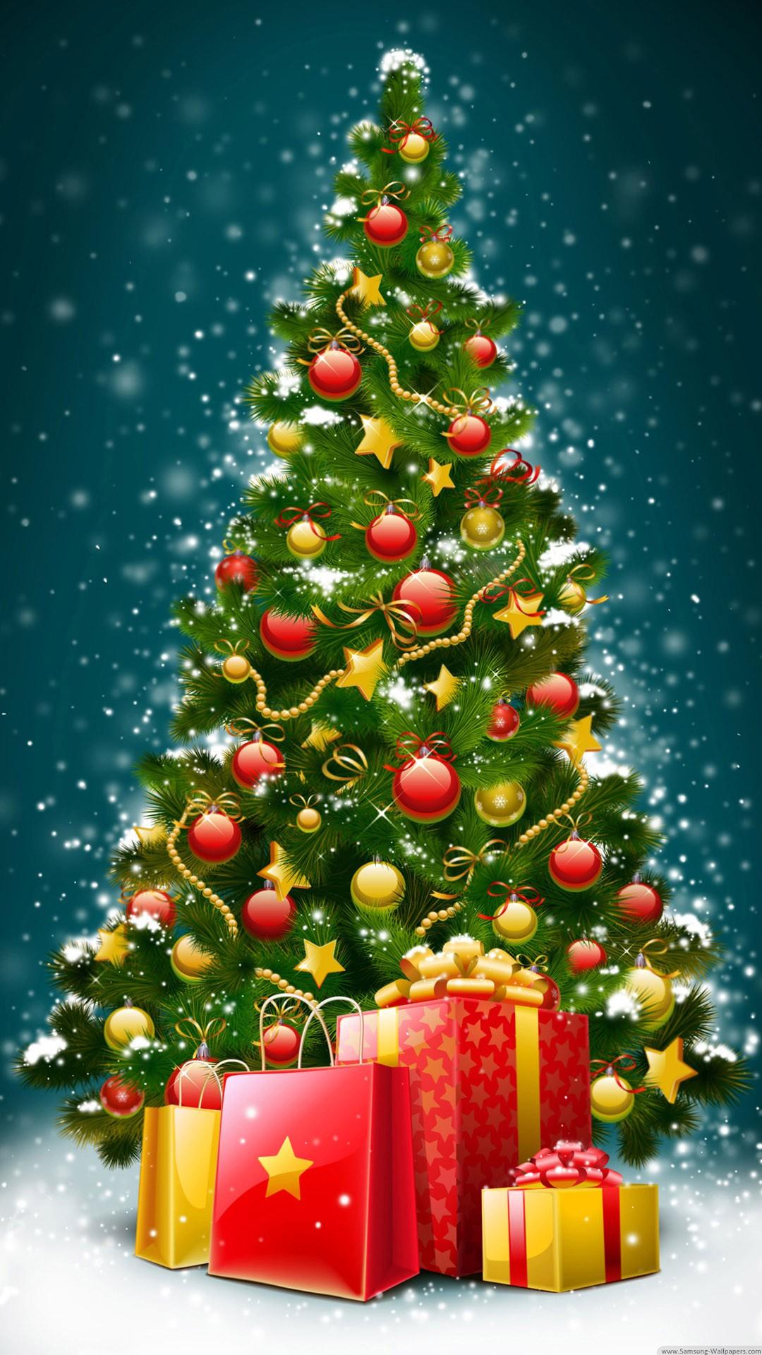 christmas 18 - 50 ảnh nền Giáng Sinh cực dễ thương cho điện thoại