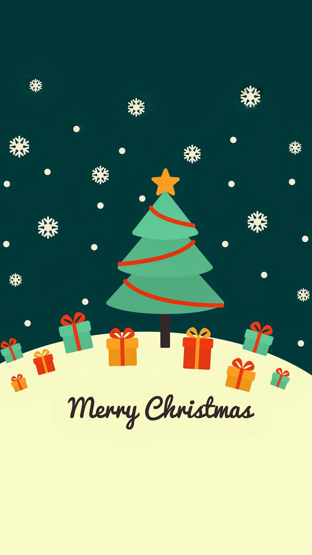 christmas 22 - 50 ảnh nền Giáng Sinh cực dễ thương cho điện thoại