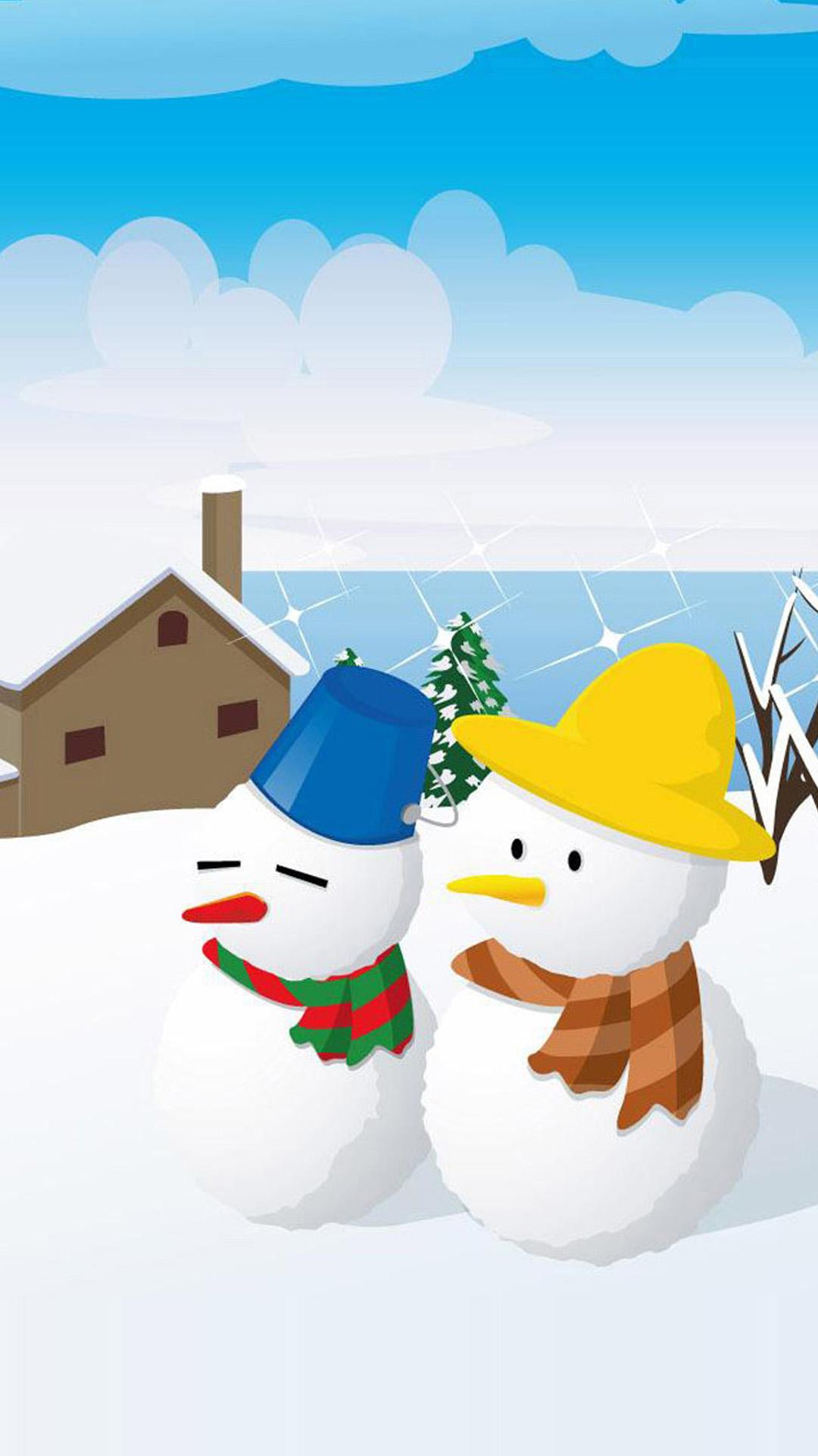 christmas 25 - 50 ảnh nền Giáng Sinh cực dễ thương cho điện thoại