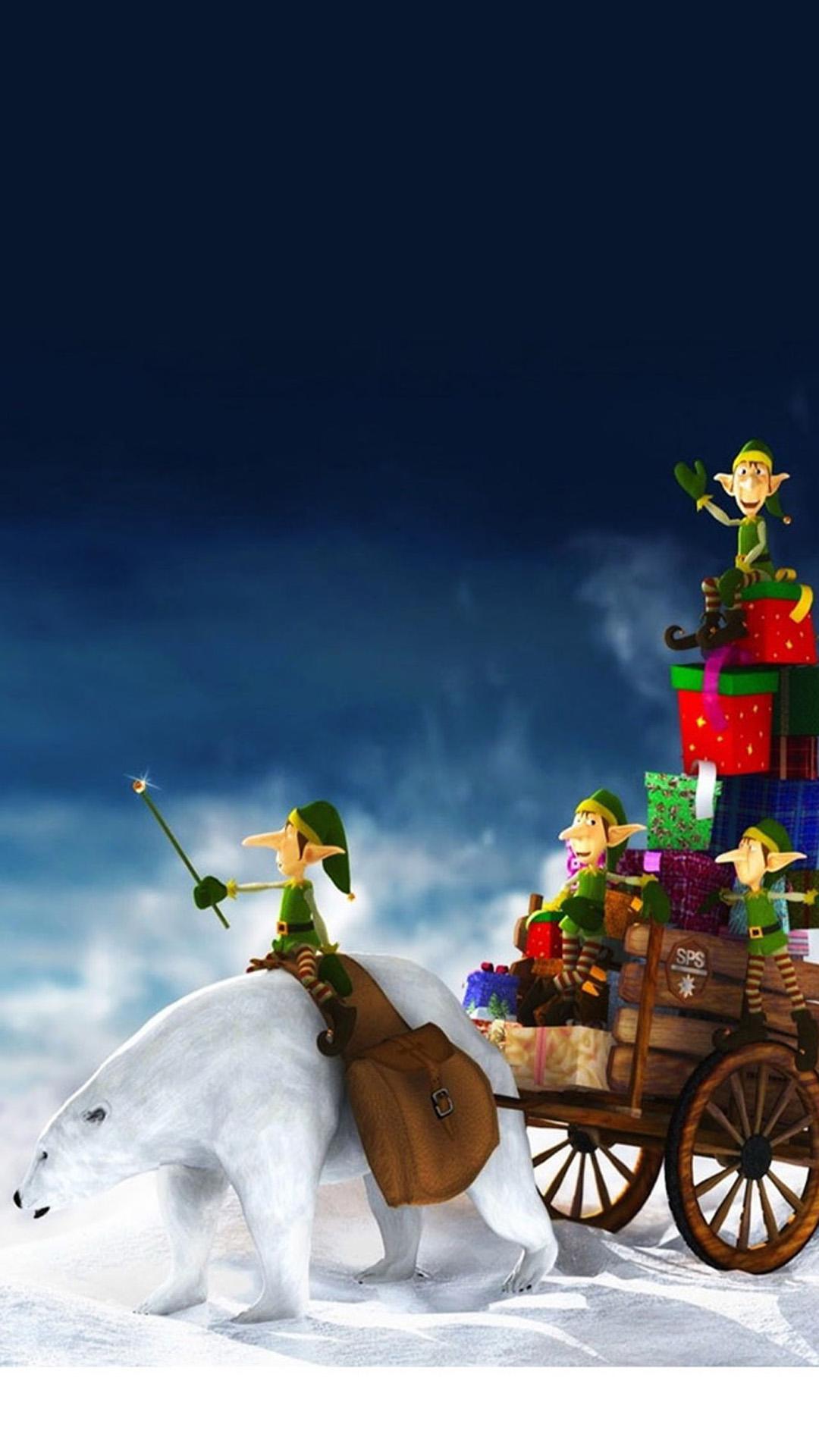 christmas 27 - 50 ảnh nền Giáng Sinh cực dễ thương cho điện thoại