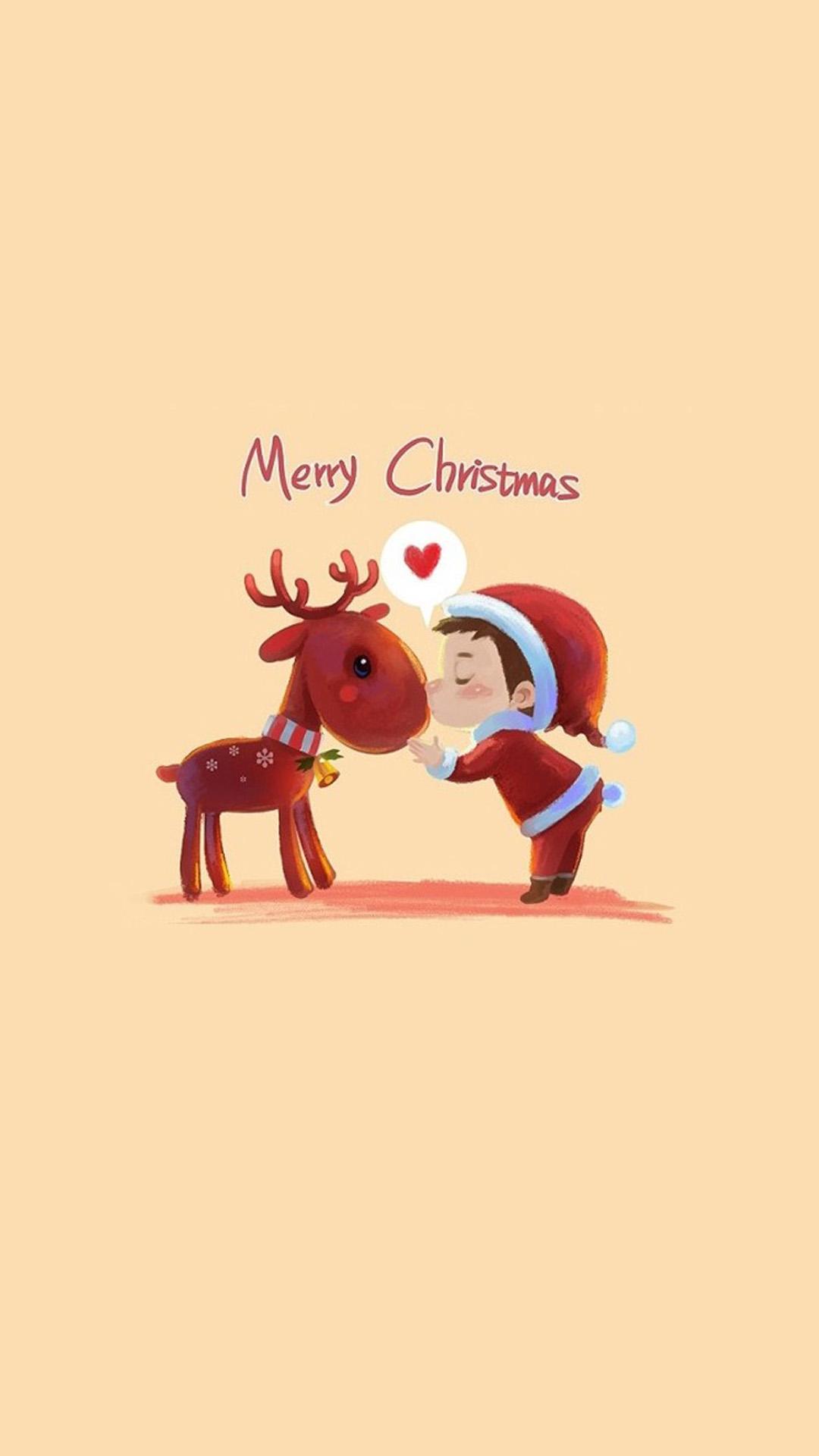 christmas 29 - 50 ảnh nền Giáng Sinh cực dễ thương cho điện thoại