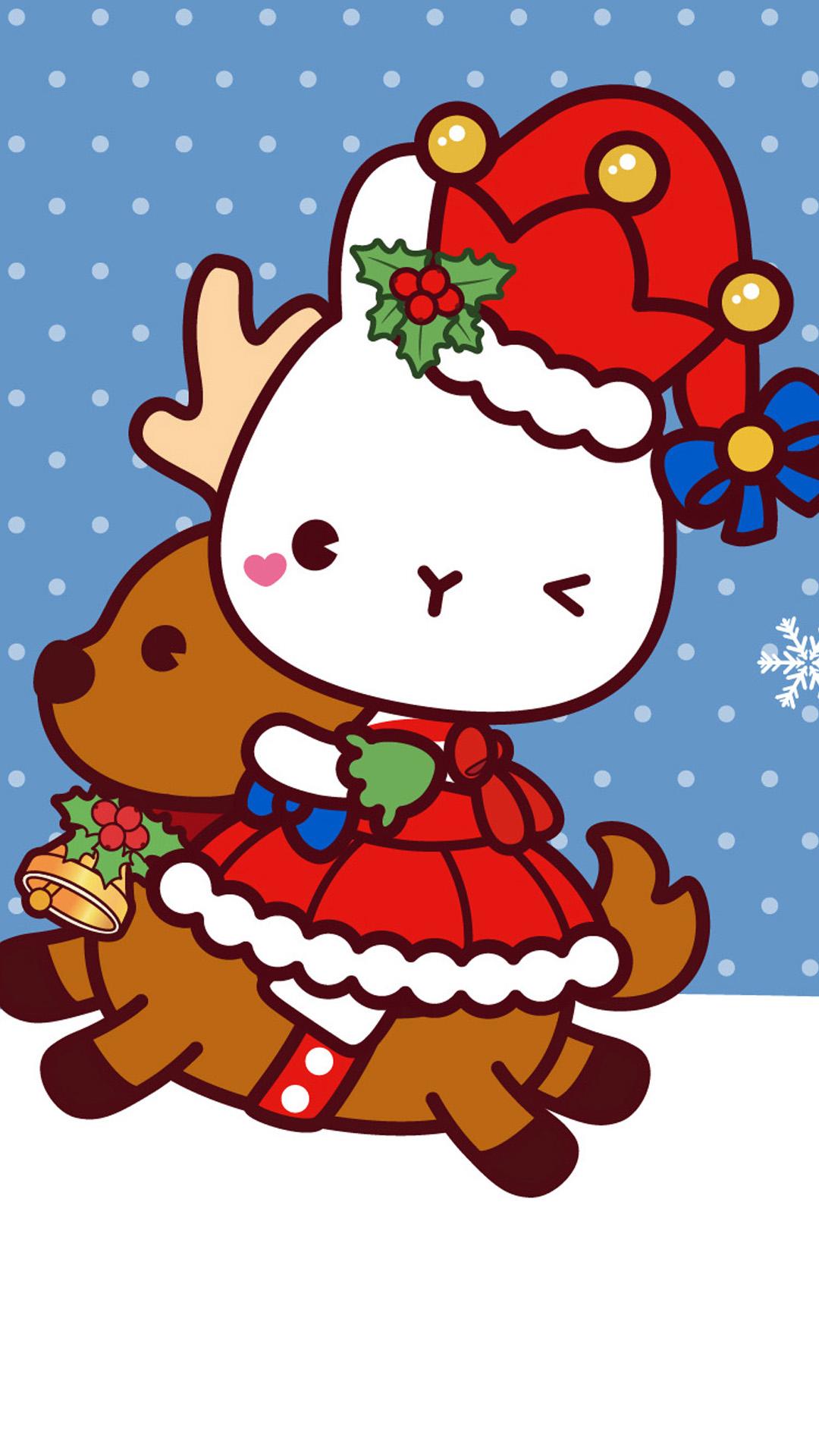 christmas 30 - 50 ảnh nền Giáng Sinh cực dễ thương cho điện thoại