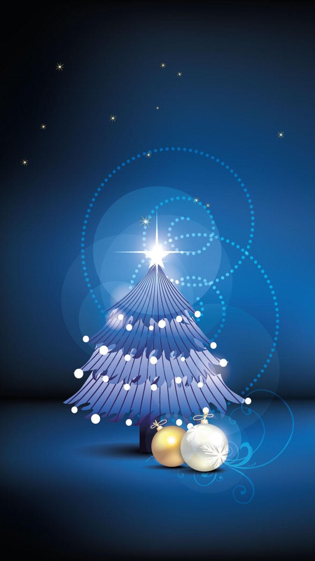 christmas 44 - 50 ảnh nền Giáng Sinh cực dễ thương cho điện thoại