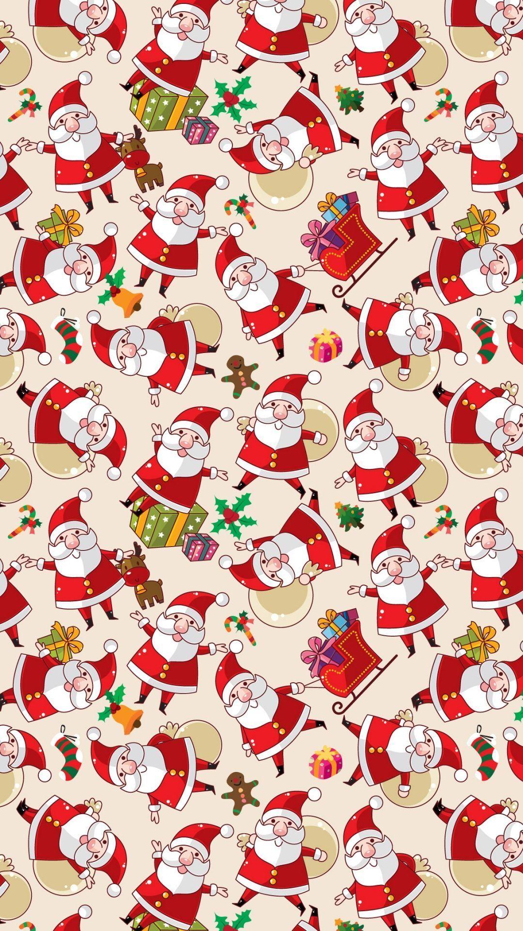 christmas 9 - 50 ảnh nền Giáng Sinh cực dễ thương cho điện thoại