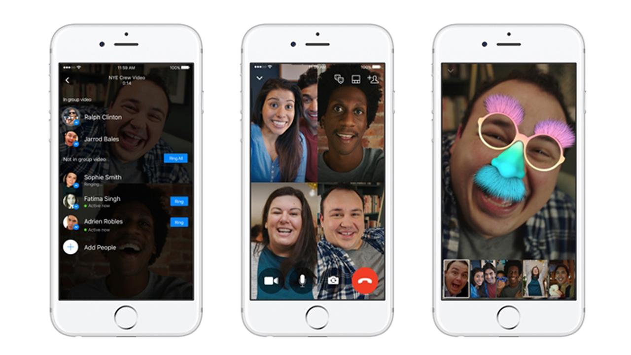 download - Bạn có biết Facebook Messenger đã hỗ trợ chat video nhóm?