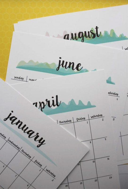 dyi gifts 544x800 - Mời bạn tải về trọn bộ 20 bộ lịch in mới cho năm 2017