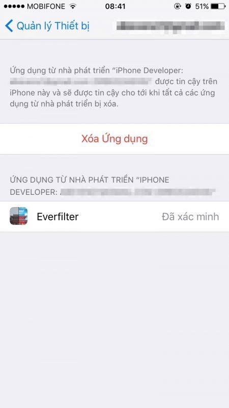 everfilter ios 3 1 450x800 - Hướng dẫn cài đặt Everfilter cho iPhone / iPad không cần jailbreak