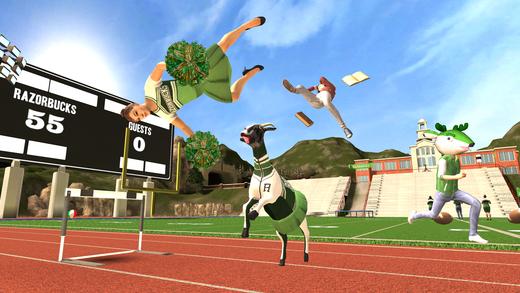 goat simulator 1 - Tổng hợp 19 ứng dụng hay và miễn phí trên iOS ngày 2.4.2017