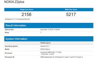 nokia z2 plus 1 400x240 - Smartphone cao cấp Nokia Z2 Plus lộ diện với RAM 4GB, chip Qualcomm