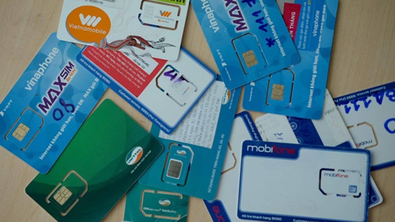 sim kich hoat san 01 1 - TP.HCM: Mua bán SIM khuyến mãi giảm hẳn do bị các mạng siết chặt