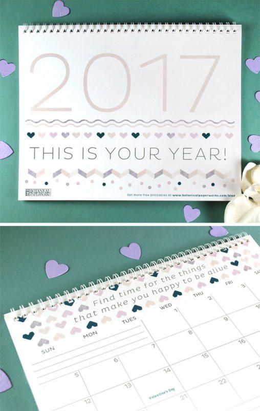 three stylist 2017 calendar 508x800 - Mời bạn tải về trọn bộ 20 bộ lịch in mới cho năm 2017