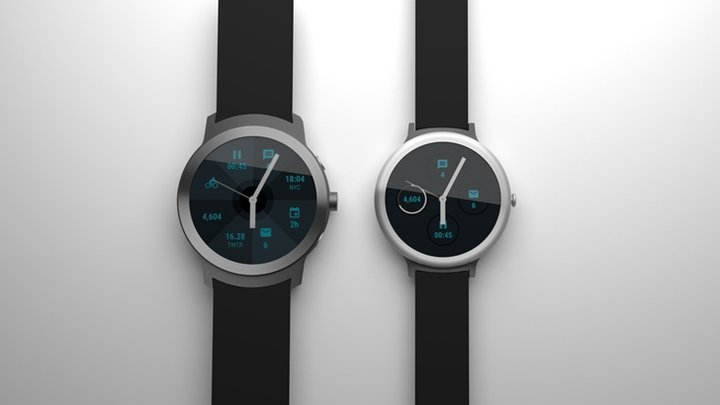 20170118085354 google smartwatches - Google sắp tung 2 mẫu đồng hồ thông minh chạyAndroid Wear 2.0