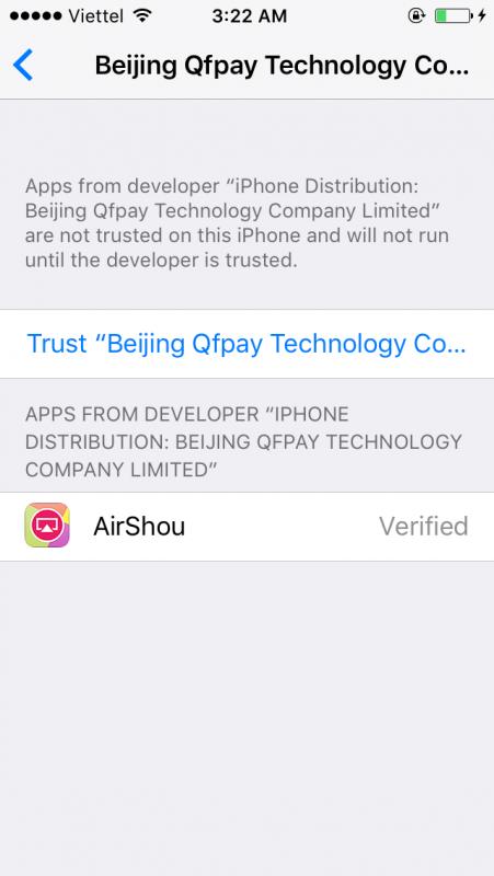 cach cai dat airshou 2 451x800 - Cách cài đặt và sử dụng AirShou cho iOS 10 chưa jailbreak (update: 15.4.17)