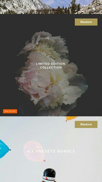 image005 338x600 - Chia sẻ account VSCO Cam có Full Preset và WWF miễn phí 100% cho iOS và Android