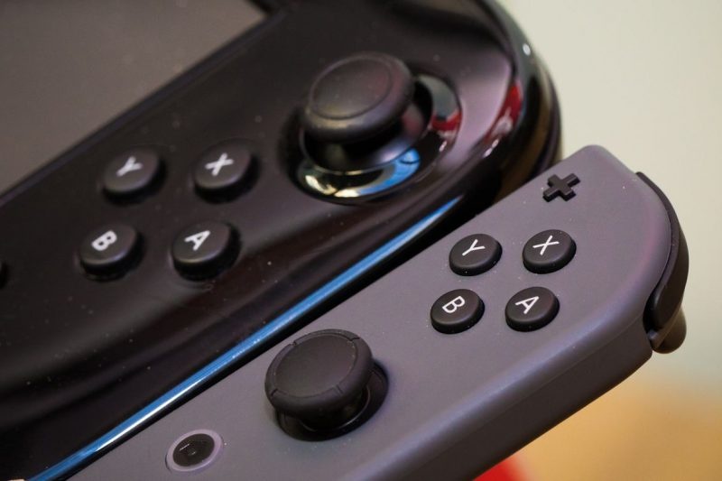 nintendo switch 3 800x533 - Kích cỡ của Nintendo Switch qua hình ảnh
