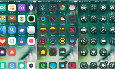 theme dep cho ios 10 featured 400x240 - Theme đẹp cho iOS 10: Symbolism, Muffin, Emerald Knight