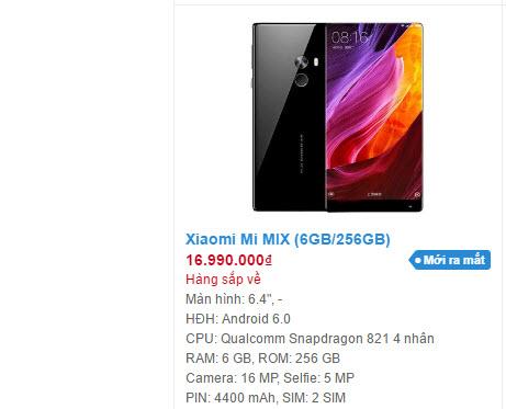 Xiaomi chính thức vào Việt Nam vào ngày mai, mang theo Xiaomi Mi Mix