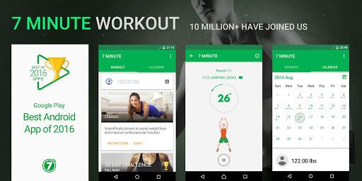 7 minute workout for android - Tổng hợp 5 ứng dụng hay và miễn phí trên Android ngày 27.3.2017