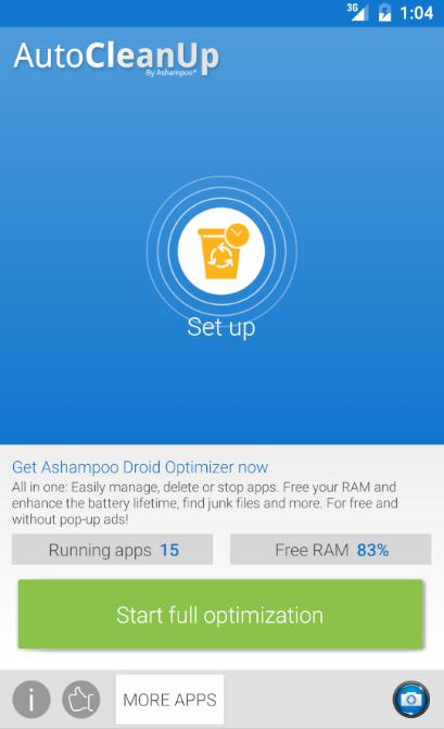 Auto Clean Up - Tổng hợp 8 ứng dụng hay và miễn phí trên Android ngày 25.03.2017