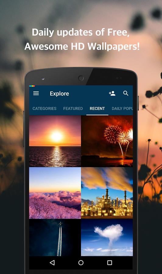 Backgrounds HD - Top 5 ứng dụng đổi ảnh nền miễn phí cho Android