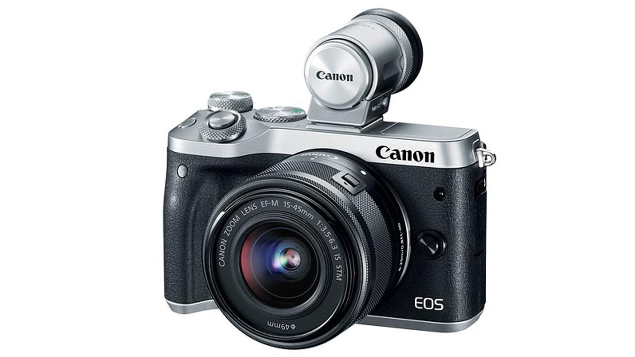 Canon EVF DC2 - Canon EOS M6 - Máy ảnh không gương lật dùng chip lấy nét Dual Pixel CMOS AF