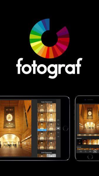 Fotograf for ios 1 338x600 - Tổng hợp 18 ứng dụng hay và miễn phí trên iOS ngày 1.4.2017