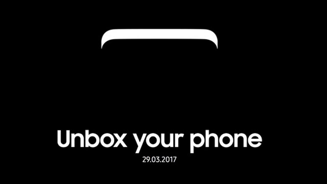 Galaxy S8 - Samsung ra ứng dụng UNPACKED 2017 chuẩn bị cho Galaxy S8